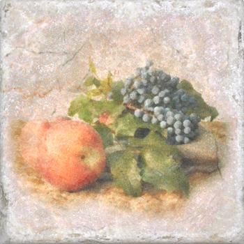 Плитка Cir Marble Style Inserto Tradition S/3 (Яблоко+Виноград)