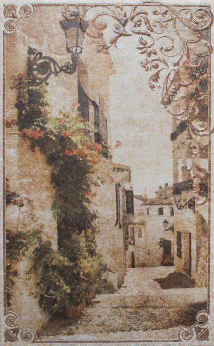 Декор Gracia Ceramica Palermo бежевый 02 25х40