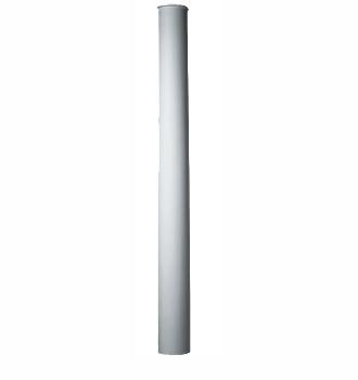 Полуколонна гладкая Decomaster 90124-Н (размер O 240,вн.O 180, 2400)