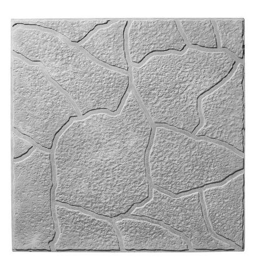 Тротуарная плитка Тучка белый