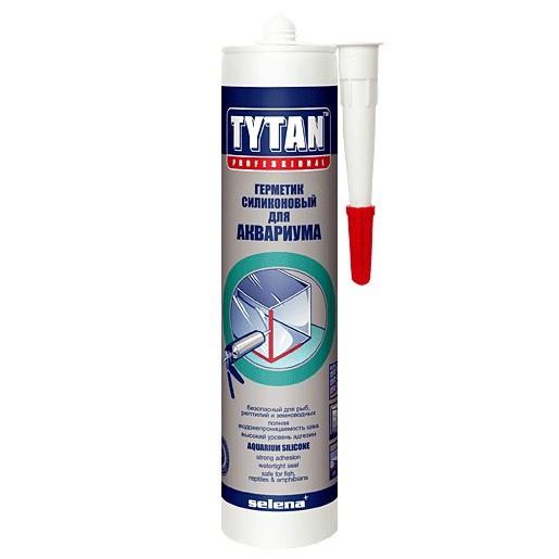 Герметик силиконовый Tytan Professional для аквариума черный 310 мл