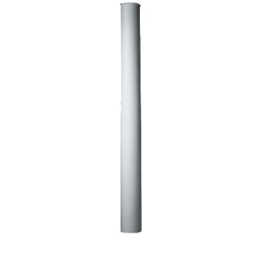 Полуколонна гладкая Decomaster 90118Н (размер O 180х2400, вн.O 152)