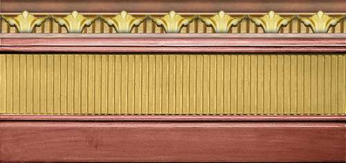 Плитка Venus Ceramica Tsarina Zocalo Tsarina Ruby 10111144-540-58540