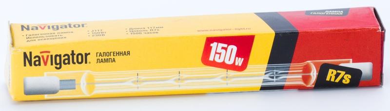 Лампа галогенная NH J117 150 W 230v R7