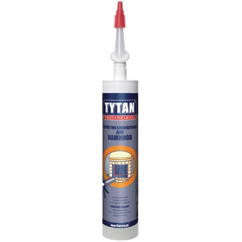 Герметик Tytan Professional для каминов черный