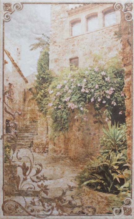 Декор Gracia Ceramica Palermo бежевый 04 25х40