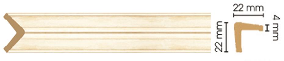 Уголок Decomaster 116S-933 (размер 22х22х2400)