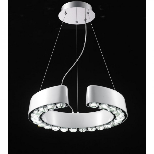 Подвес Crystal Lamp D1403C-15WH