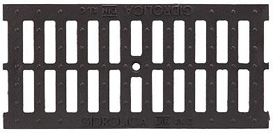 Решетка чугуная щелевая DN100, 0,5м (на лоток водоотводный)