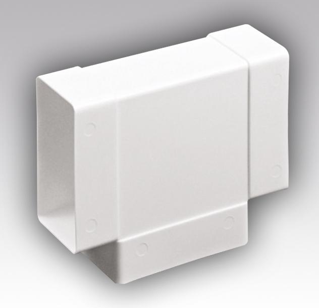 Тройник Т-образный 55х110 (вентиляция)