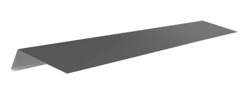 Планка карнизная гибкая черепица (2м.п.)