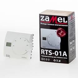 Zamel Matec Терморегулятор механический, наружний монтаж, жк дисплей, радиус 2,5м (RTS-01)