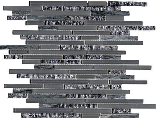 Плитка L Antic Colonial Eternity Mini Strip Grey L100097105