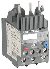 ABB TF42-0.55 (0,41 - 0,55 A) Тепловое реле перегрузки для контакторов AF09-AF38 (1SAZ721201R1017)