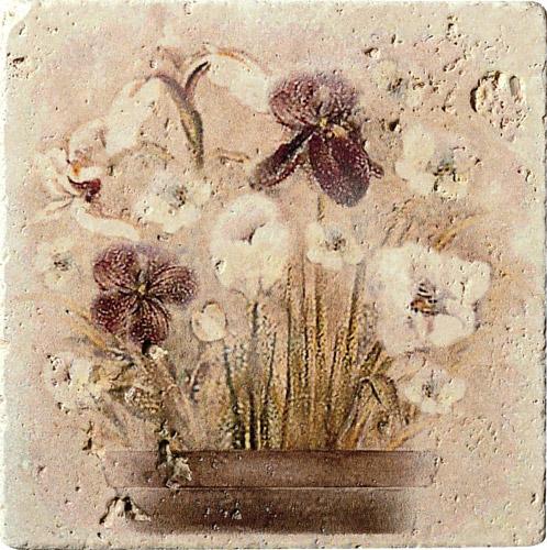 Плитка Cir Marble Age Ins.Travertino S/3 (Пять Цветков) 1514019-00-1300