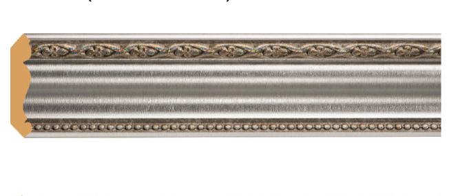 Цветной карниз Decomaster 155-55 (51х51х2400)