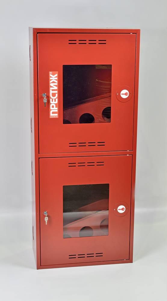 Шкаф пожарный Престиж ШПК-320-21НОК навесной открытый красный