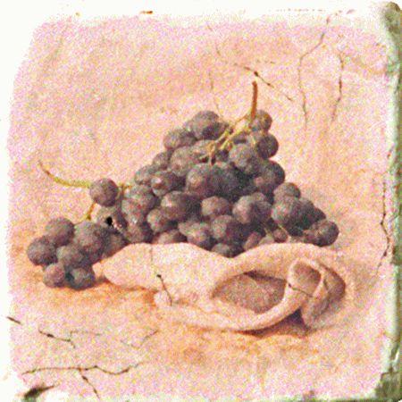 Плитка Cir Marble Style Inserto Tradition S/3 (Виноград)