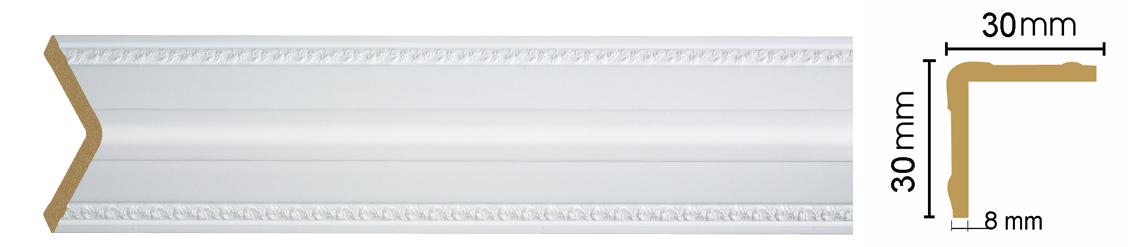Уголок Decomaster 116-115 (размер 30х30х2400)