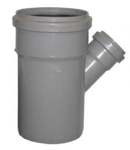 Тройник 110-50х45гр (внутр.канализация)
