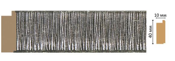 Decomaster Багет Decomaster 109-29 (размер 40х10х2400) decomaster багет decomaster 808 552 размер 61х26х2900мм