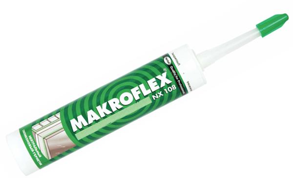Герметик силиконовый Makroflex | Макрофлекс белый, 300ml