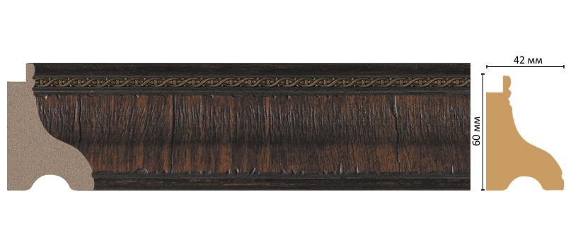 Багет Decomaster 175-2 (размер 60х42х2900)