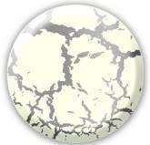 Краска Decomaster Венецианский белый с эффектом трещин - финишное покрытие 258101