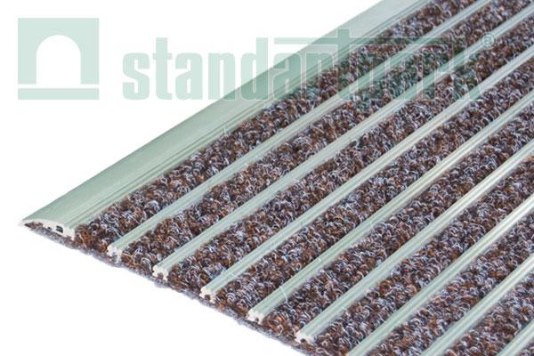 Ворсовое покрытие Каскад 1х1,5 м (коричневый)