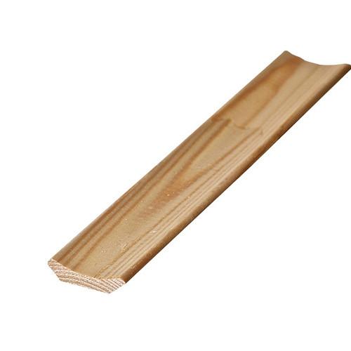 Плинтус деревянный широкий 50мм (за 1 м.п.)
