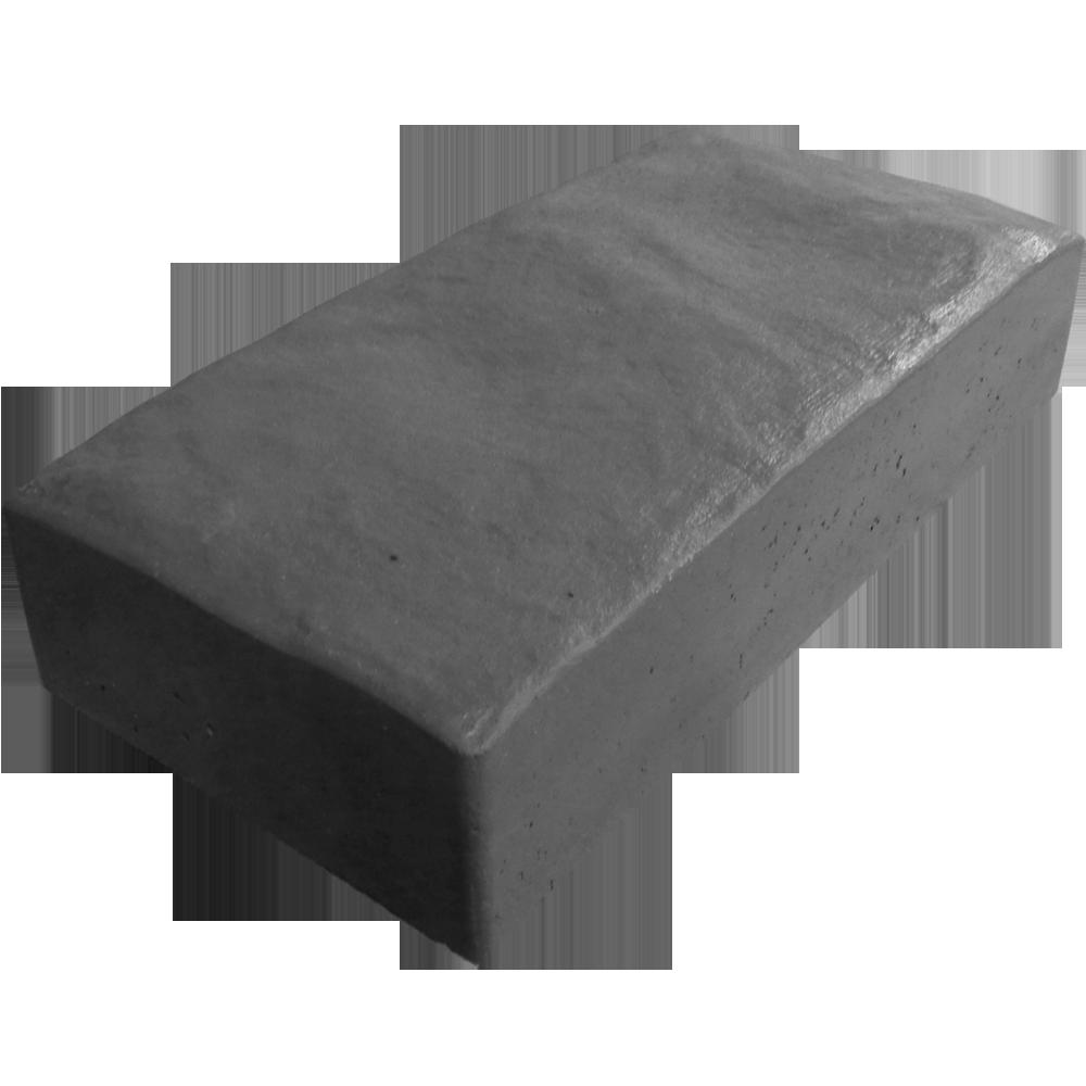 Тротуарная плитка Английский булыжник темно-серый