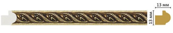 Багет Decomaster 118-28 (13x13x2400)