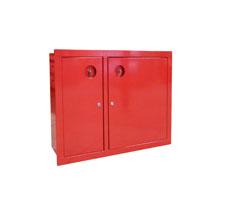 Шкаф пожарный ШПК-315ВЗК  встраиваемый закрытый красный