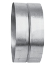 Муфта круглая 180х180 (воздуховод оцинкованный)