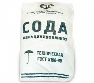 Сода кальцинированная, мешок25кг