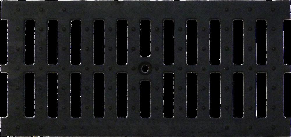 Решетка чугуная щелевая DN200, 0,5м (на лоток водоотводный)