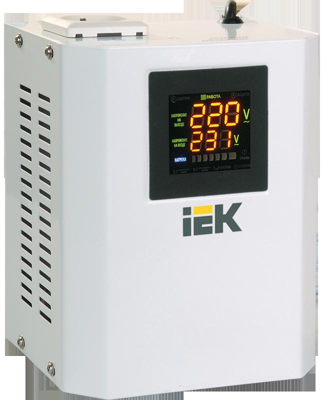 IEK Стабилизатор напряжения серии Boiler 0,5 кВА (IVS24-1-00500)