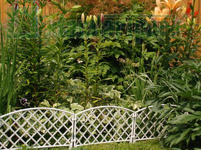 Забор декоративный №6 ЗД-3200.240-ПП пластиковый  терракотовый 8306-Т