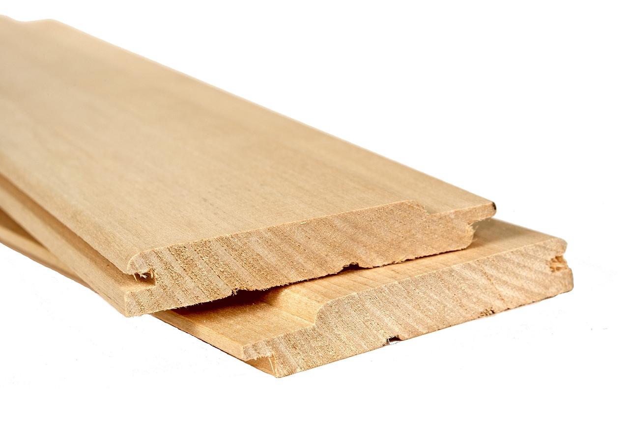 Вагонка липа 100x12.5мм 2.3м сорт Экстра
