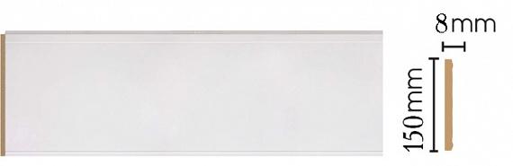 Декоративная панель Decomaster B15-115 (150х9х2400мм)