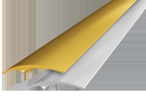 Порожек одноуровневый, 0.9м золото