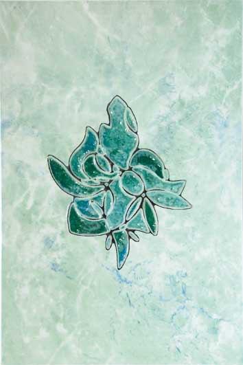 Декор Шахтинская плитка Пьетра бирюзовый 20х30 от Stroyshopper