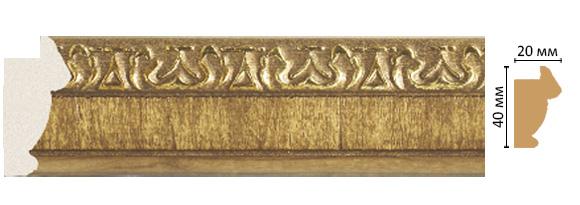 Багет  Decomaster 807-4  (размер 40х20х2900)