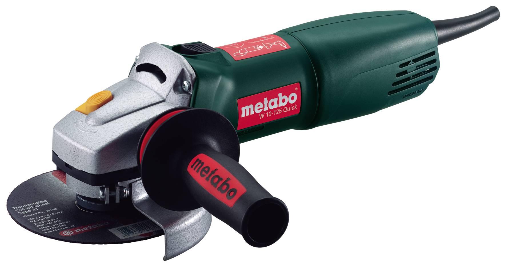 УШМ 150мм Metabo W12-150Quick 1250вт,3.8Нм (болгарка)