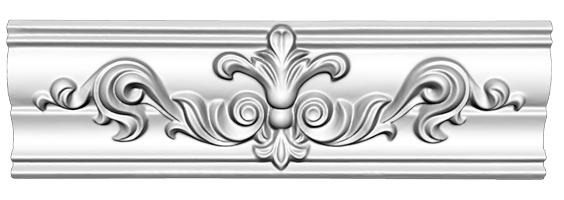 Угол декоративный Decomaster DP 350 M (размер 57х53Х275)