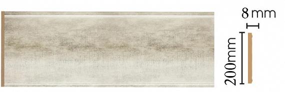 Декоративная  панель Decomaster B20-937 (200х9х2400мм)