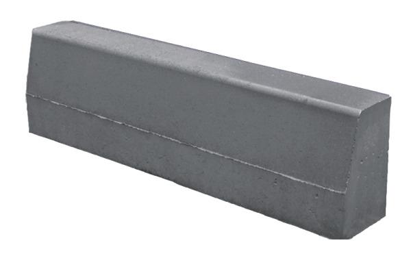 Мостовой бордюр размер: 1000х450х180 мм