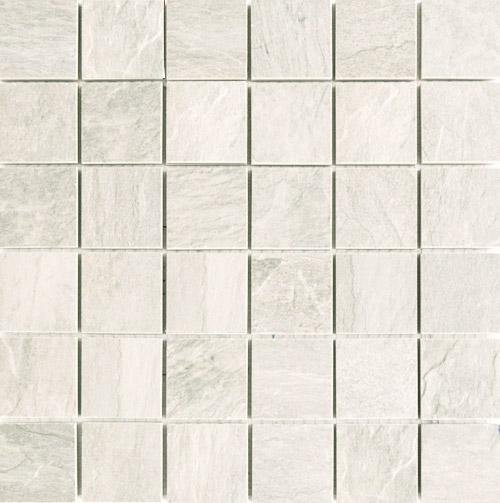 Плитка Rex Ardoise Mosaico Blanc Grip 739356