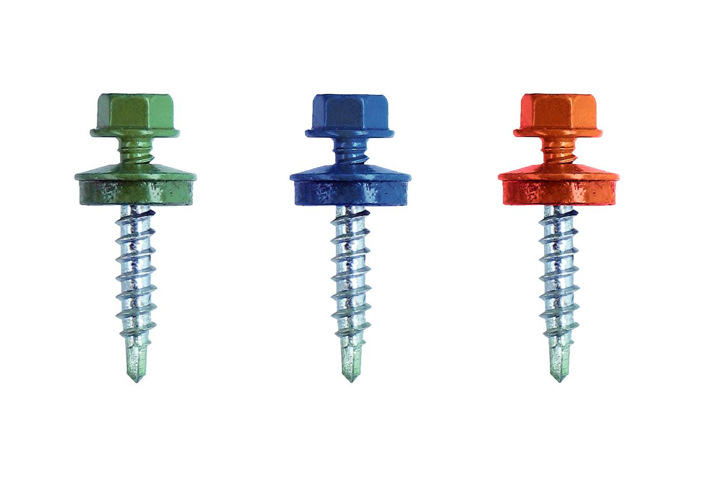 Саморезы для кровли 4.8x35 (6020) зеленый хром