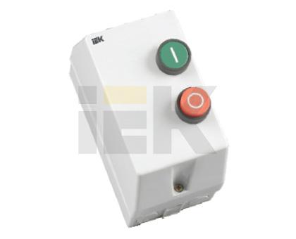 IEK Контактор КМИ10960 9А в оболочке Ue=220В/АС3 IP54 (KKM16-009-220-00)